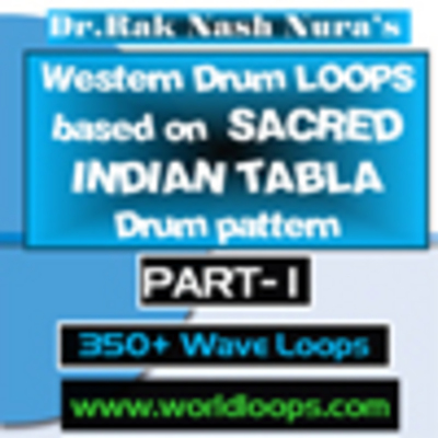 Product picture WESTERN DRUM LOOP with INDIAN DRUM PATTERN - PART- 1